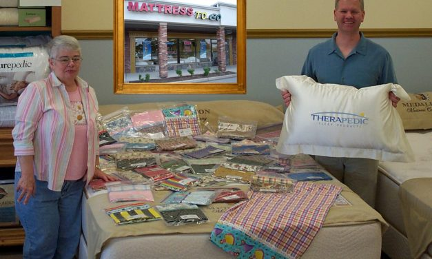 Mattress To Go Making Pillowcases For The Turning Point Shelter – Seeks Fabric Donations