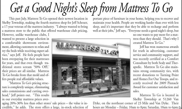 C & G News Covers The Grand Opening of Mattress To Go