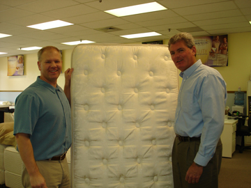 Mattress To Go Owner Donates Mattress To Abigayle Ministries