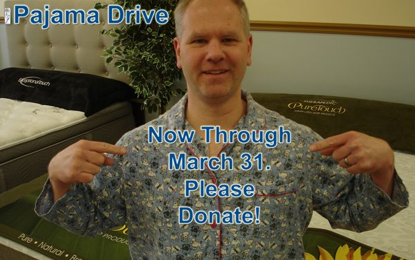 Mattress To Go Holding Pajama Drive For Turning Point Shelter