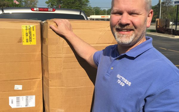 Mattress To Go Makes Pillow Donation To HAVEN