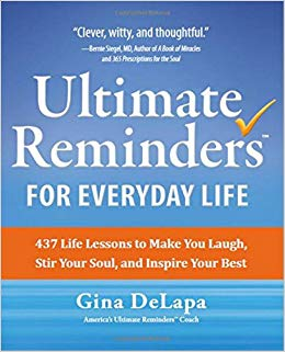 Ultimate Reminders book by Gina DeLapa.