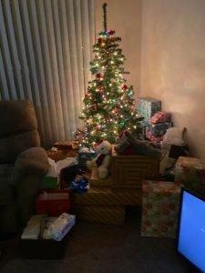 Diamond's Christmas tree