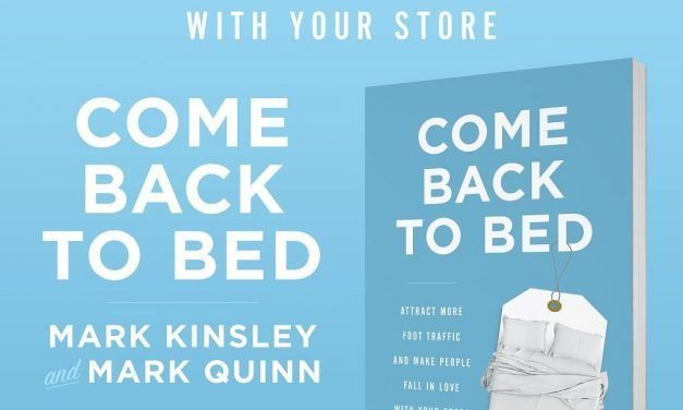Mattress To Go And Beducation Featured In New Book, Come Back To Bed